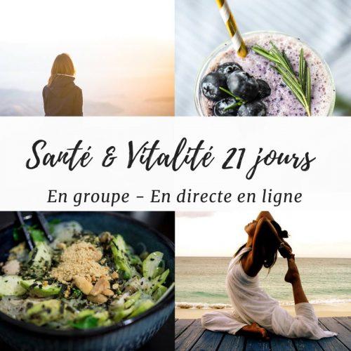 Programme Santé & Vitalité – 4 Ateliers de groupe En Ligne
